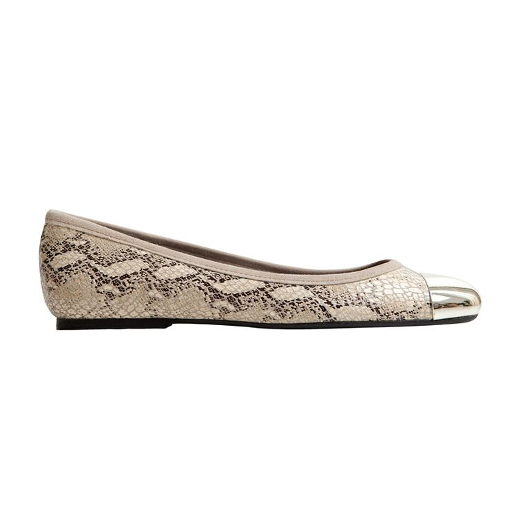 #Ballerina #ANA in python printed leather, made just for you from #MAS34  www.mas34shop.com