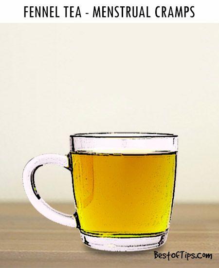 FENNEL TEA FOR MENSTRUAL CRAMPS