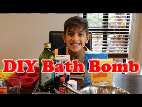 DIY Bath Bomb by The Garage TV - YouTube