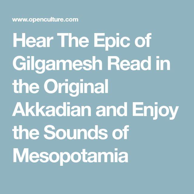 hear the epic of gilgamesh read in the original akkadian - 640×640