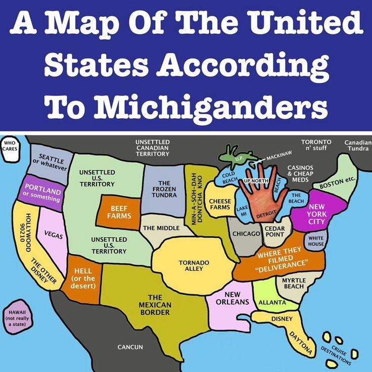 ♥ Michigan...Haha, not really but it's kinda funny!