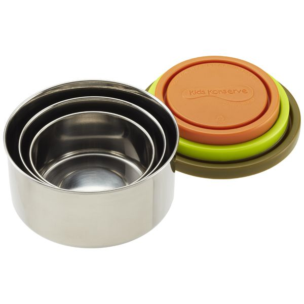 The Container Store > Stainless Steel Nesting Trio
