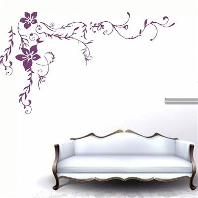 Floral Wall Decals Wall Stickers from Picsity.com LOVE LOVE LOVE THIS ONE!!!