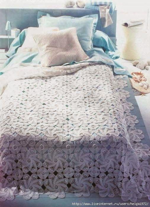 286 besten Crochet - Bedspread Bilder auf Pinterest | Tagesdecke ...