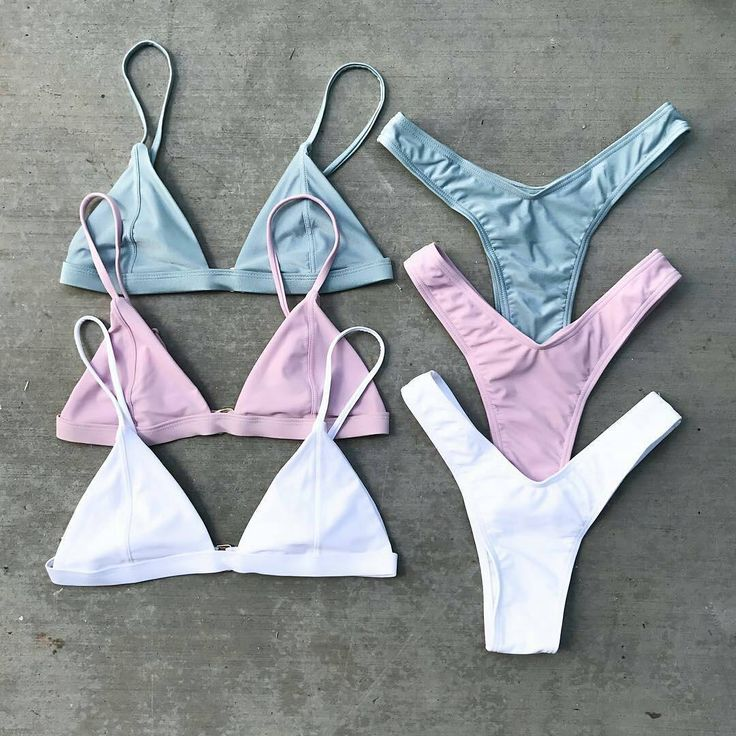 """5,944 Likes, 39 Comments - Swimwear on Show® (@swimwearonshow) on Instagram: """"Have you got them all? The 'DARIA' in Soft Blue - Mauve - Ivory by @kiraswim 💗💙 Shop our insta >…"""""""