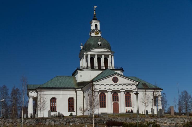 Lanskyrkan i Skellefteå Sweden