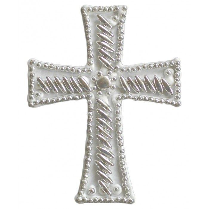 Σταυρός  για δίσκο μνημοσύνου κριθαράκι 12.5x9.5 | Εφοδιαστική