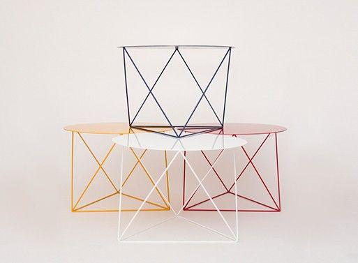 Octahedron Side Table — FURNISHINGS -- Better Living Through Design