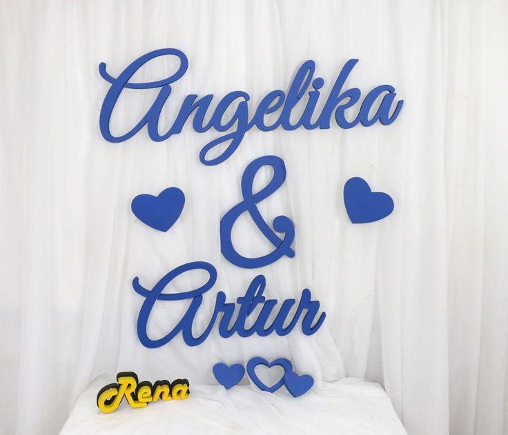 Imiona na wesele Angelika&Artur
