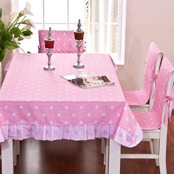 yeni moda yemek masa örtüsü ve sandalye örtüsü seti 100% pamuk fabirc dantel masa örtüleri yapışık sandalye örtüleri ve minderler