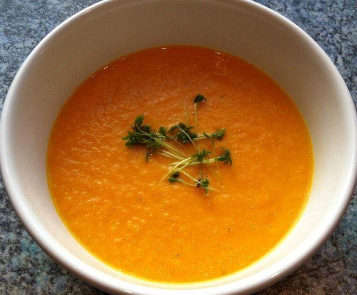 Rezept Orientalische Karottensuppe von Thermofrog - Rezept der Kategorie Suppen