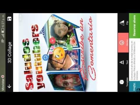 Editor de 5 estrellas con 3D Foto Collage Maker desde tu Smartphone