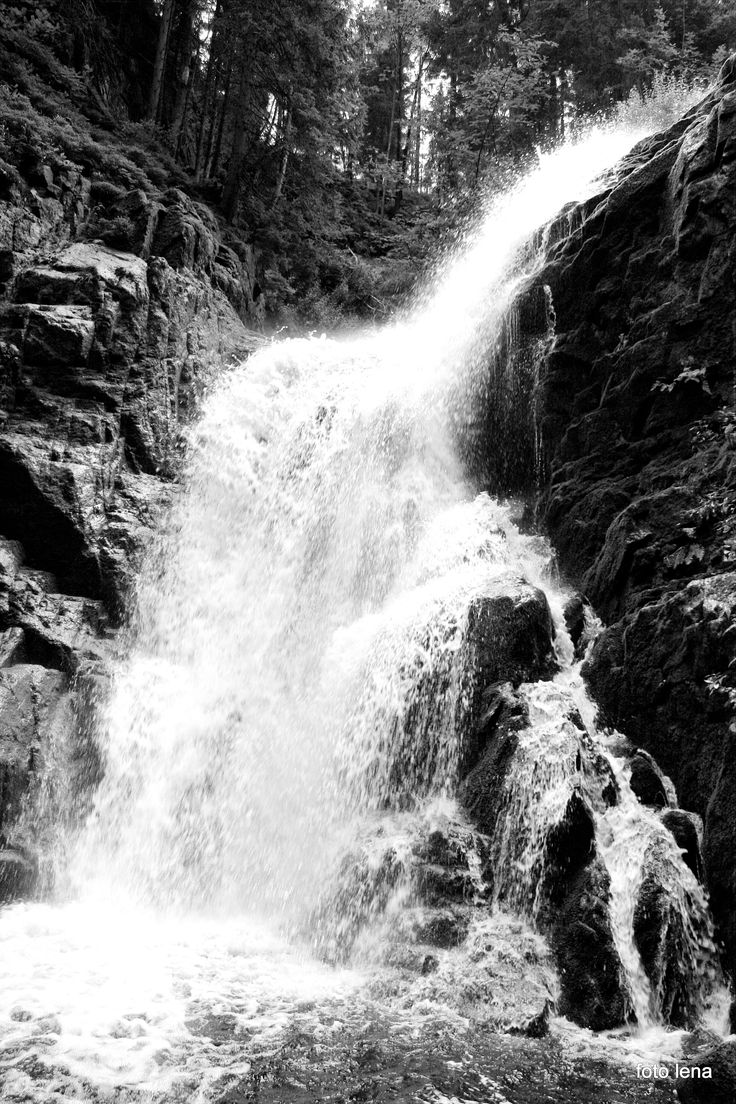 wodospad Kamieńczyk Karkonosze -Polska