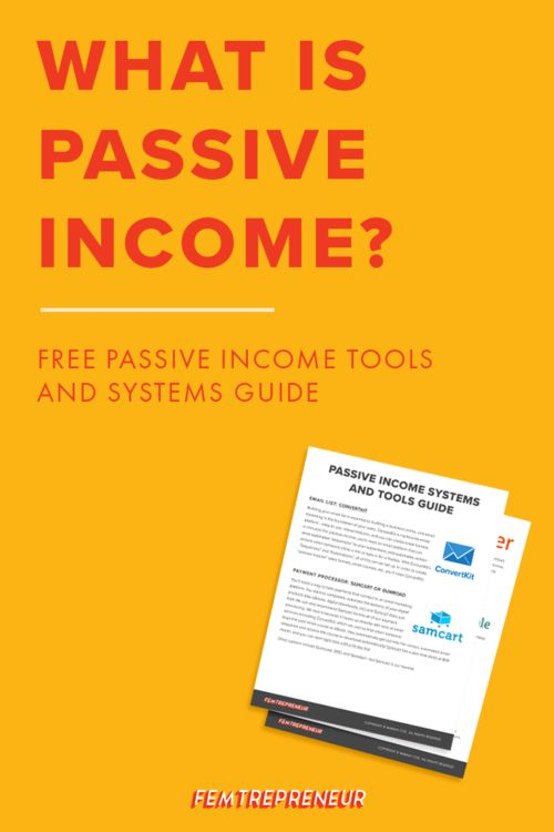 What is passive income? Are online courses really passive income? We're answering these questions in detail and giving you a true sense of what it means to have passive income, run and online course, and what you need to achieve both. Don't forget to download the Passive Income Systems and Tools Guide when you listen to this episode! | The Femtrepreneur Show 044