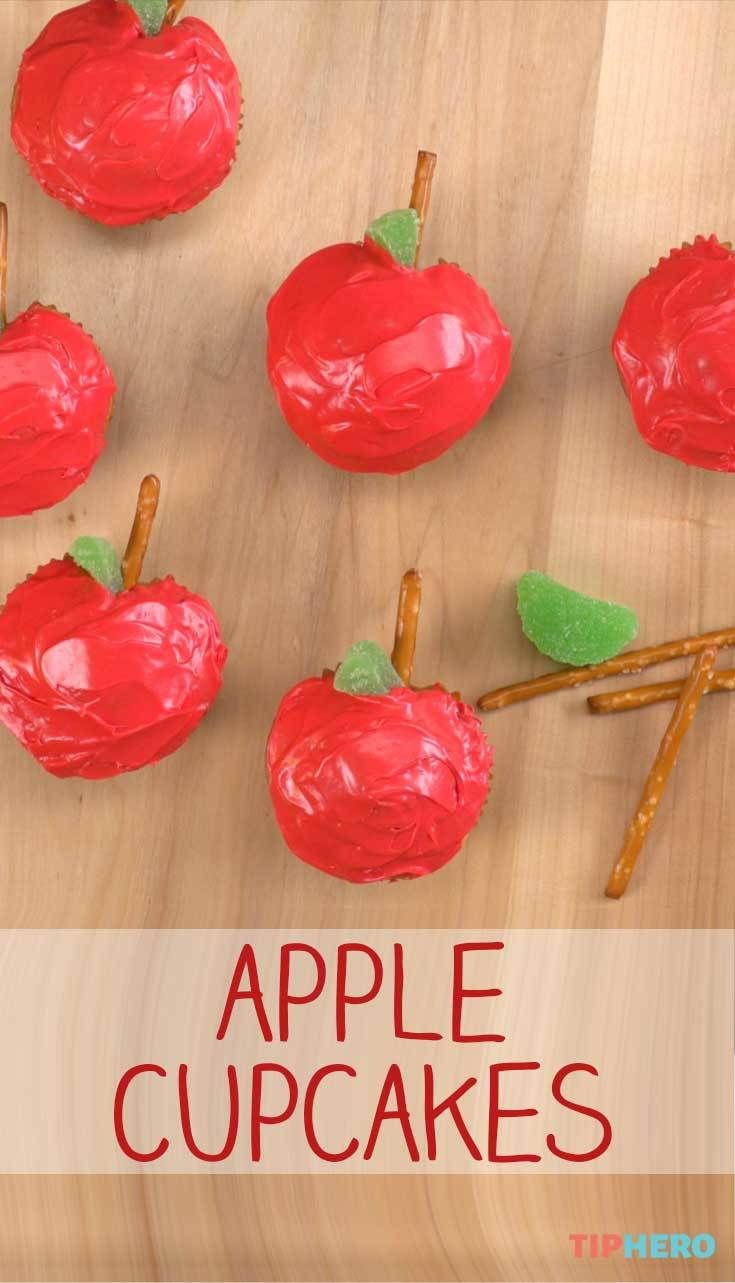 Kids got the back-to-school blues? Whip up a batch of these apple shaped…
