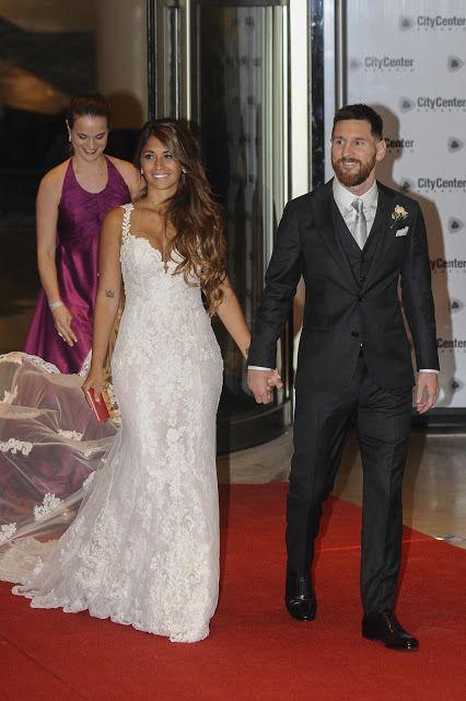 La ventana indiscreta de julia: Looks alfombra roja en la boda de Messi – AB Magazine