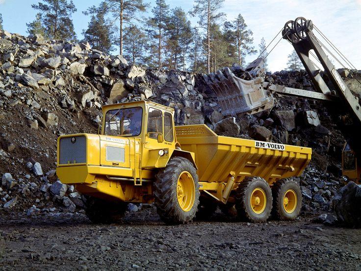 1968 Volvo Model-BM DR860 quarry semi tractor construction   Heavy Equipment 1   Volvo models ...