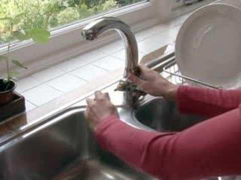 Collins Diy Survival Demos How To Fix A Dripping Tap Leaky Kitchen Sink Faucet Clean