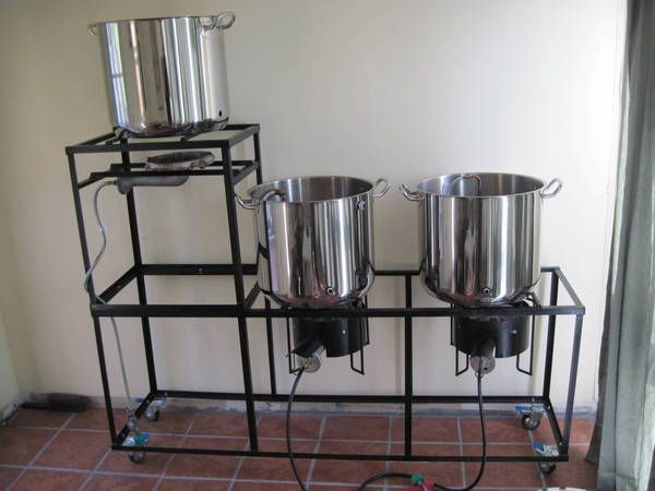 My Brew Stand - A Few Questions - Home Brew Forums
