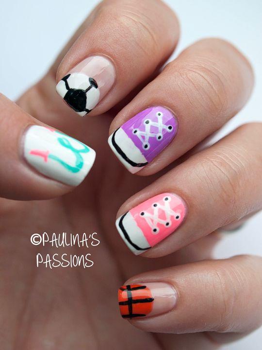 Sport #nail #nails #nailart