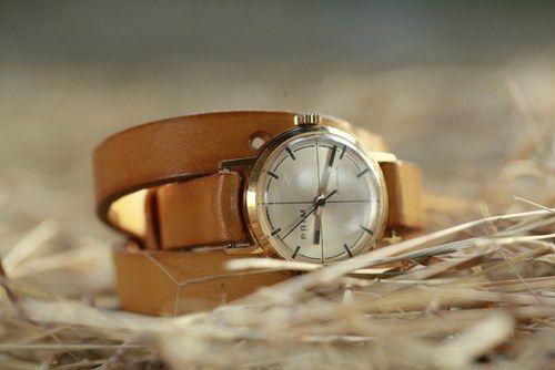 Pásek na dámské náramkové hodinky - obtočený