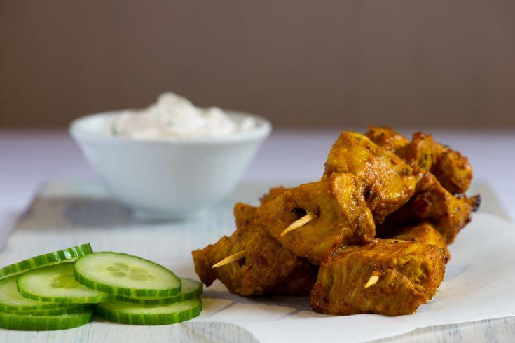 #Turkey #Tikka - delicious #recipe for turkey tikka, created by famous chef Cyrus Todiwala