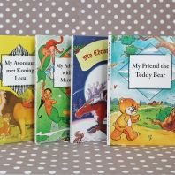 Personalised novel - make your child and three of her friends part of a story adventure. Great way to encourage reading from an early age