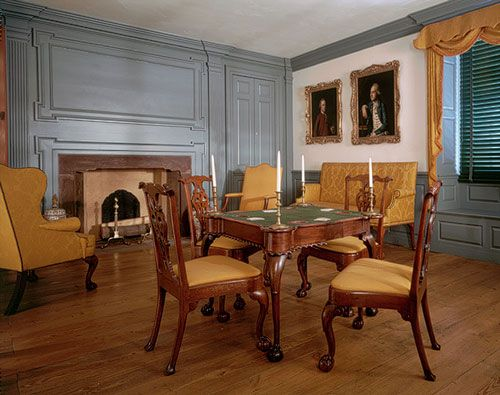 American Georgian Interiors Mid Eighteenth Century Period Rooms At The Met