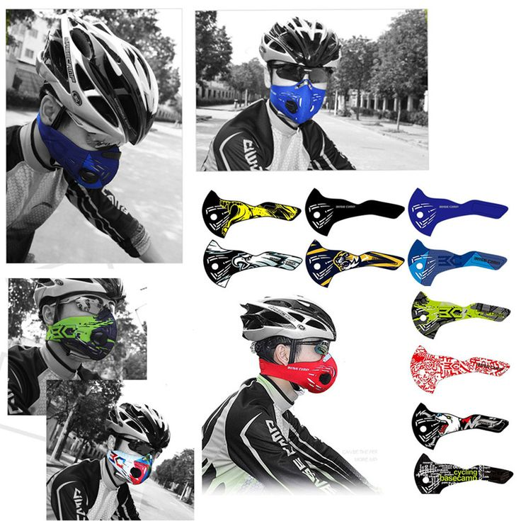 BASECAMP Cycling Mask Anti-Pollution Mouth-Muffle Dust Mask Dustproof Mountain Bicycle Sport Road Cycling Masks Face Cover M5027
