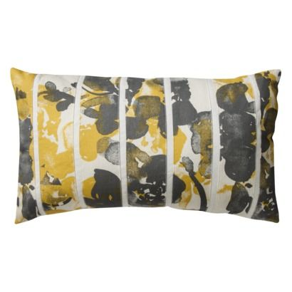 Threshold™ Pieced Floral Oblong Pillow (14x24), $24.99