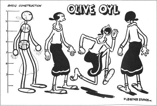 #Olive Oyl _ #Olivia Palito #PipocaComBacon