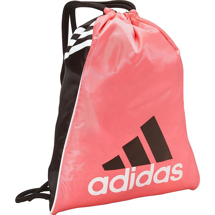 Image of adidas Burst Sackpack Pink Zest - adidas School & Day Hiking Backpacks