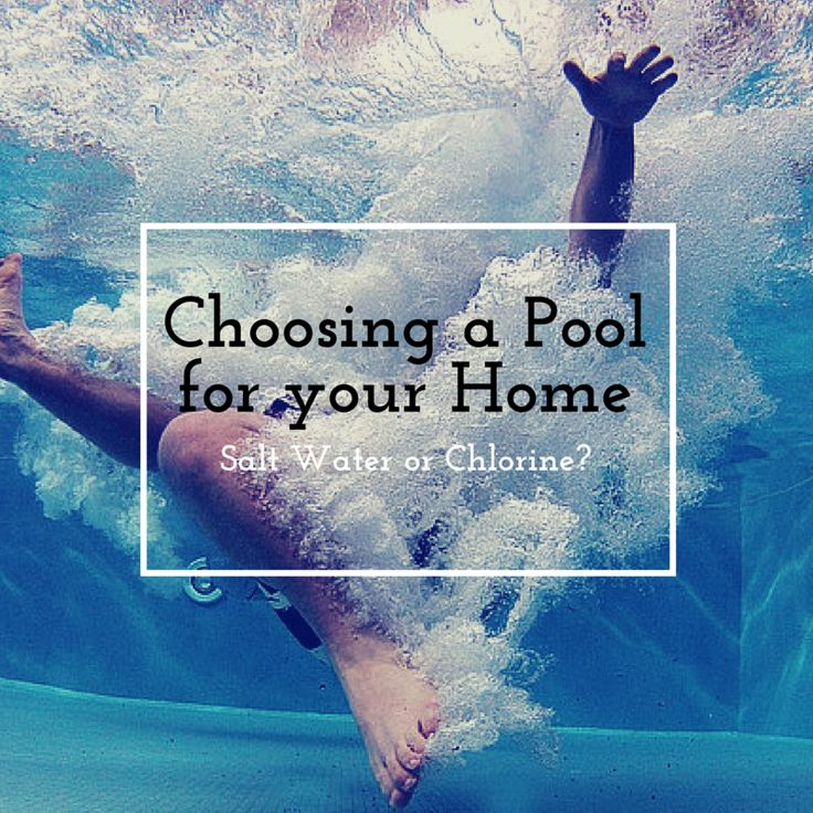 Swimming Pool Chemistry For Dummies : Best salt water pools ideas on pinterest