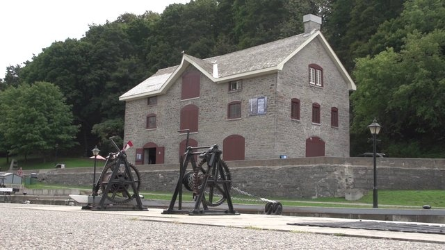 Bytown Museum video by Ottawa Tourism. Nestled beside the Rideau Canal locks below Parliament Hill and adjacent to the Ottawa River, the Bytown Museum traces the early history of Ottawa to its present day, with a special focus on the construction of the Rideau Canal - a UNESCO World Heritage Site. For more on Ottawa Museums visit http://www.ottawatourism.ca/en/visitors/what-to-do/museums-and-galleries