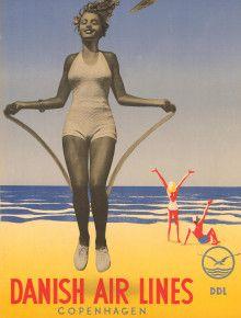 danish airlines beach