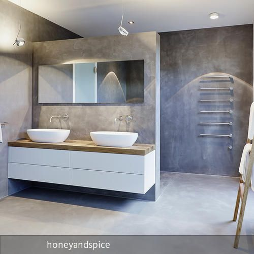 die besten 25 beton badezimmer ideen auf pinterest. Black Bedroom Furniture Sets. Home Design Ideas