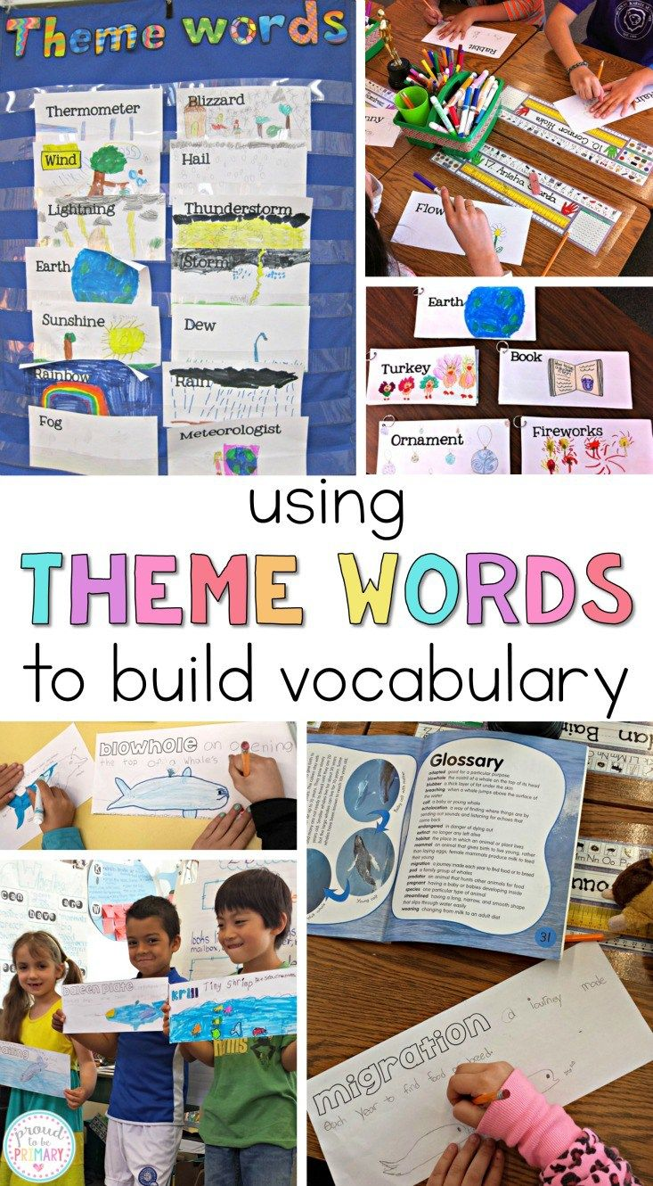 Vocabulary Activities to Make Words Stick - 5 Free Printables