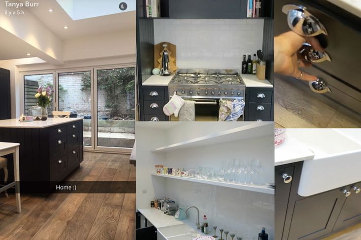Tanya burr kitchen quates ,Sky light,farrow and ball railings - eine dynamisches modernes kuche design darren morgan