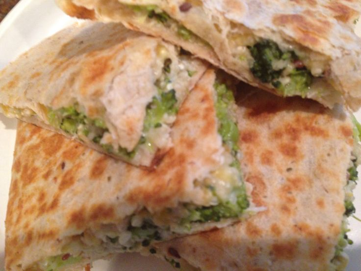 Broccoli and quinoa quesadilla | FOOD FOR THOUGHT_PERSONAL CHEF MEALS ...
