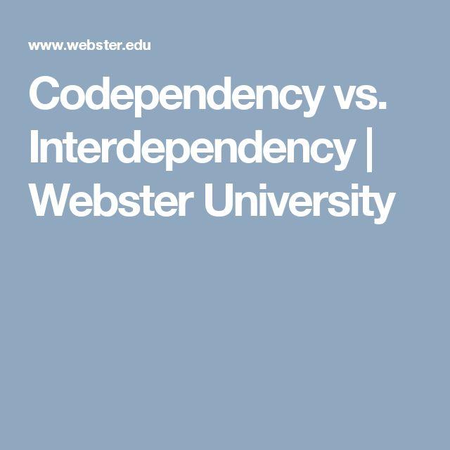 Codependency vs. Interdependency | Webster University