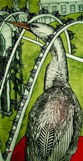 Return by Mandy Renard - printmaker - Tasmanian artist