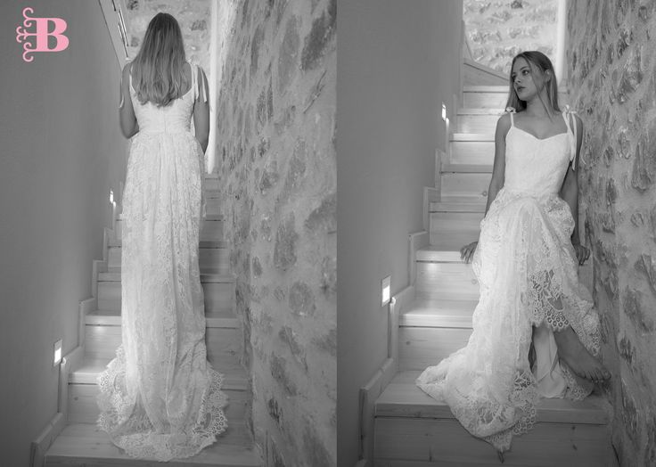 Tania bridal gown.Bachdi collection 2017 for Nymphi label. bridal. gown. lace. bespoke. surmesure.