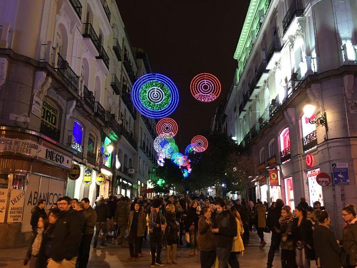 Navidad en Madrid 2016 #Madrid #Spain #NavidadEnMadrid #Europa #Mediterraneo #Plaza y