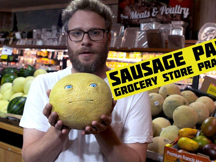 Grocery Store Prank for Sausage Party promo