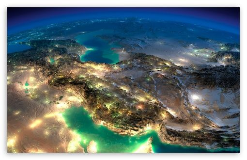 Very Nice Satellite Images Of Iran wallpaper