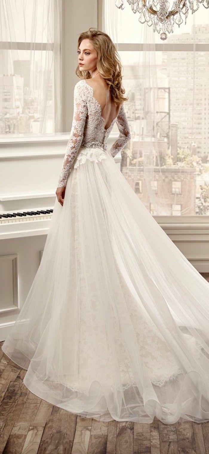 19 verblüffende Ideen für weißes Kleid!  Hochzeitskleid