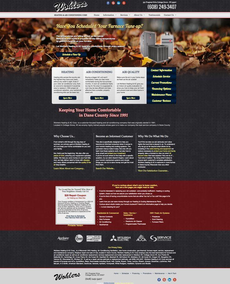 Pin by OnlineAccess, Inc. on Seasonal Websites Heating