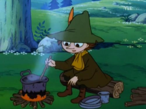 Snufkin's cooking