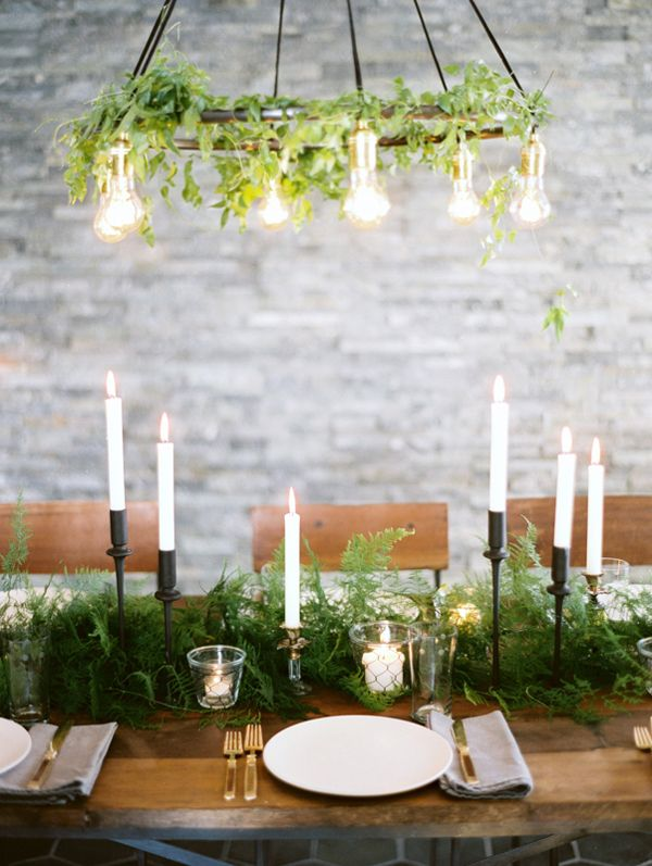 Winter Wedding Decorations via once wed