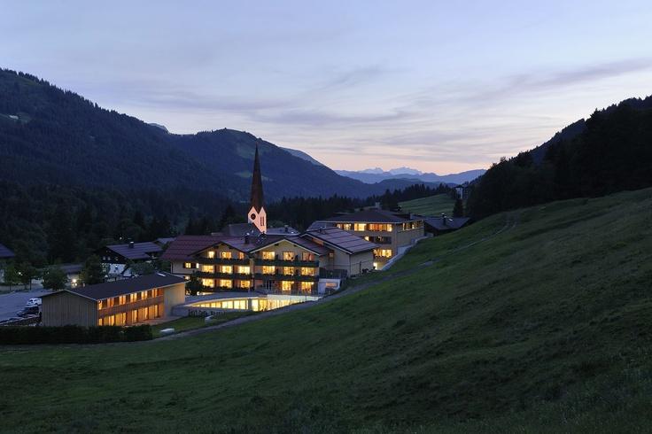 Wellnesshotel HUBERTUS Alpin Lodge & Spa in Balderschwang im Allgäu, Bayern